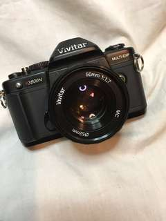 VIVITAR V3800N & 50mmf1.7 (PRICE REDUCED!!)