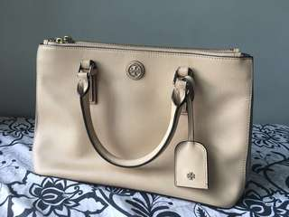 Tory Burch Robinson (block color) with free Aldo strap