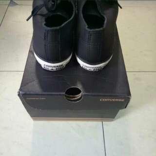 🚚 Converse 24 黑鞋
