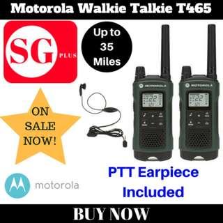 Motorola Walkie Talkie T465