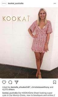 Kookai mexico vee Dress