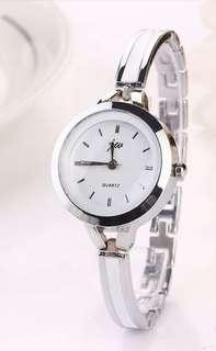 HOTSALE!! Jam gelang fashion luxury Intl watch silver