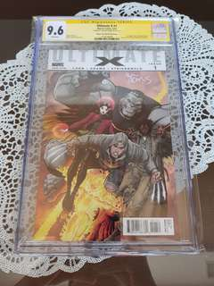 Ultimate X 1 CGC SS 9.6 Metal Claw Variant