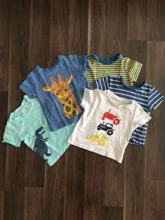 Mothercare & Carter T-shirts