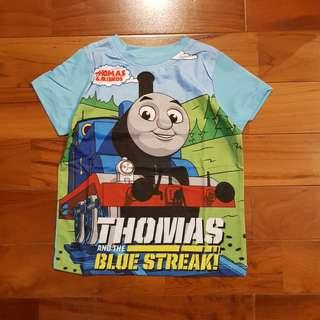 Tshirt thomas biru