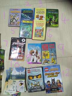 Comic book and story book