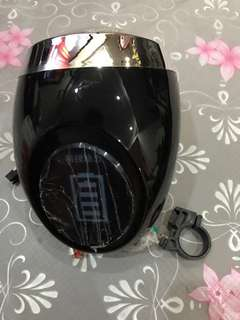 E-bike/e-scooter head lamp 48V