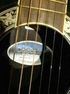 🚚 Ovation CC 67二手吉他(含吉他箱子)