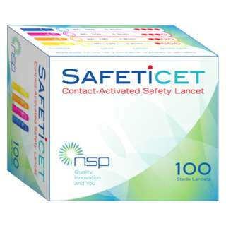 SAFETiCET universal safety lancet (4 types)