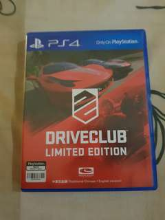 Driveclub PS4 ( limited edition )