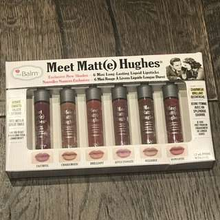 The Balm Meet Matt(e) Hughes Liquid Lipstick Set