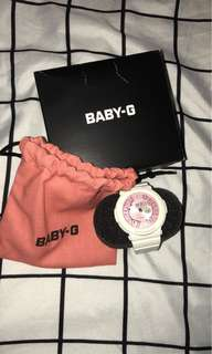 Baby-G watch (pink) 97%New