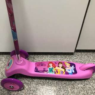 BNIB Disney Princess Scooter