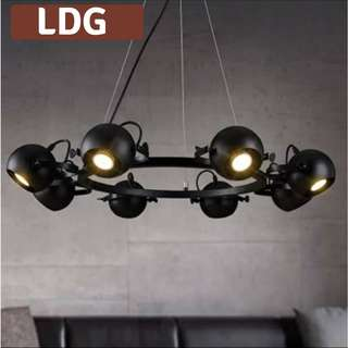 Industrial Theme Hanging Lamp