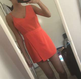 Orange River Island playsuit