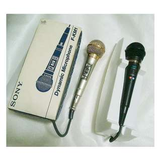 ~~~ ProFFeSSioNal Wired  KaRaOKe Key ConTRoL MicroPhones DueT $128  ~~~