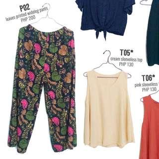 Printed Boho/ Wideleg Pants