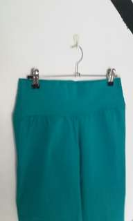 💕 Teal highwaisted candy pants