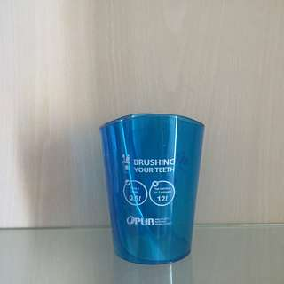 Save Water - Use the Brushing Teeth Cup