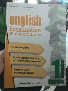 Sec 1 English Practise Examination