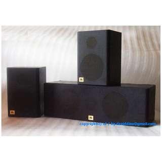 ~~~This  U.S.A. JBL PaSSiVe speakers set GooD 4 Any BooK SHeLf ~~~