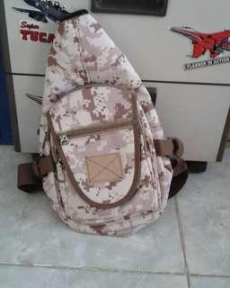 Tas sling back 802,tas slempang, tas army