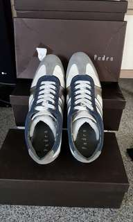 Pedro Shoe white mix blue