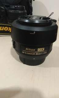 AF-S DX Nikkor 35 mm f/1.8G AF-S