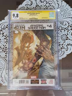 Amazing Spider-man 4 CGC SS 9.8 Tom Holland