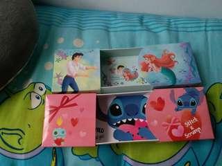 日本東京 Disney 史迪仔 Stitch 美人魚 小魚仙 巧克力 朱古力盒