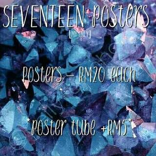 SEVENTEEN POSTERS
