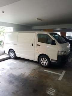 Toyota Hiace Manual for rent. 6 months minimum. Good for delivery jobs