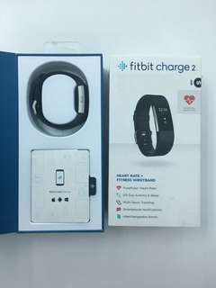Fitbit Charge 2 with extra strap