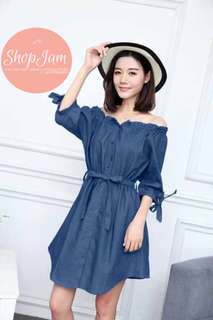 Belle Soft Denim Dress