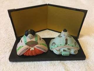日本手工藝品擺設