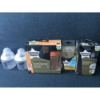 Tommee Tippee closer to nature teats & feeding bottles
