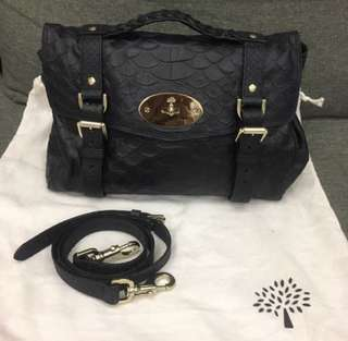 Mulberry Alexa Silky Snake - Medium