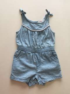 Fox Denim Romper