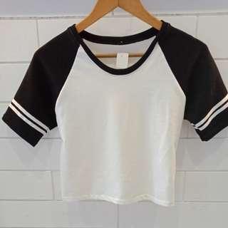 Baseball Crop Shirt