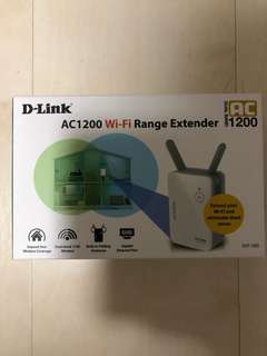 D-Link AC1200 Wifi Range Extender