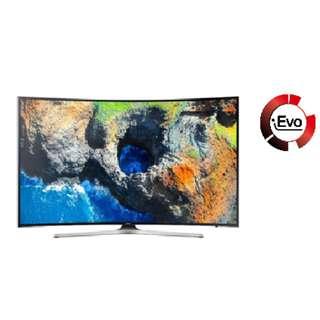 """SAMSUNG UHD 4K CURVED SMART LED TV 49"""""""