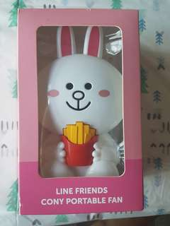 Cony and Brown portable fan