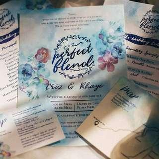 Wedding Invitations (Perfect Blend) #3
