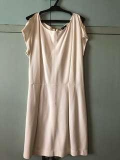 Mango white dress - NEVER WORN