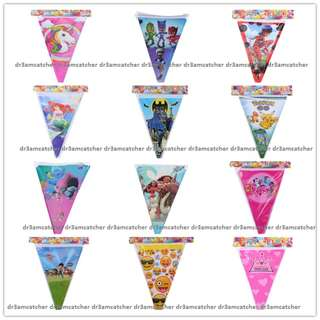 Party triangle flag buntings