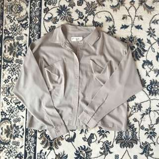 X(S M L) Taupe Top