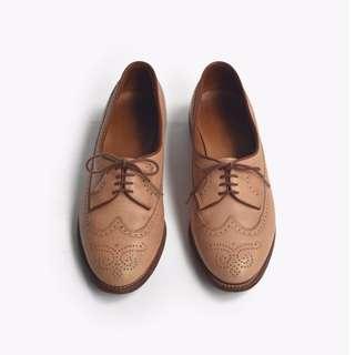 🚚 90s 美製孩子之心皮鞋 | Allen Edmonds Wingtip US 6B EUR 36