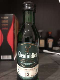 Glenfiddich 12years 5cl
