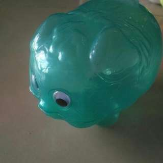 $1 Awesome Sale Classic Plastic Piggy Bank