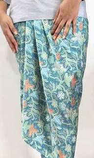 Satin Pario Printed Skirt by NJ